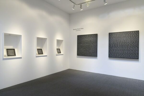 "Sophia Dixon Dillo's ""Alliterations"", installation view"