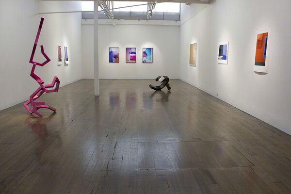 In the White Square, installation view