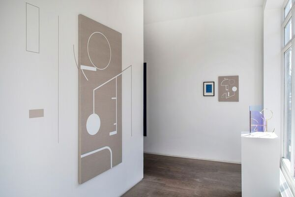 Your Private Sky with Sinta Tantra, installation view