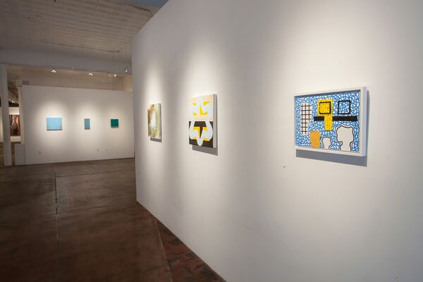 Big Art / Small Scale, installation view