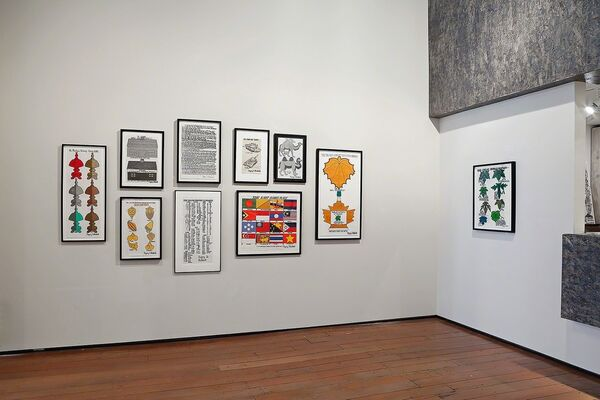 Gregory Blackstock – The Great World Survey of Gregory Blackstock Drawings, installation view