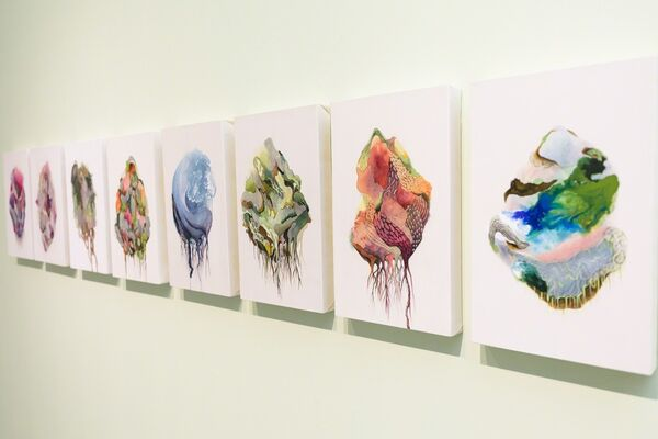 Momentary A solo exhibition by Si Jae Byun, installation view