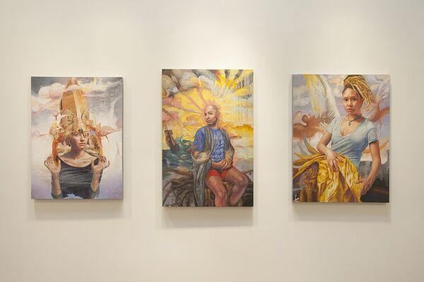 Jason John: Crossing the Threshold of Self, installation view