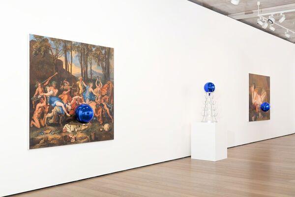 Jeff Koons, installation view