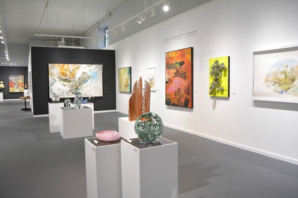 In the Landscape and Of the Landscape, installation view