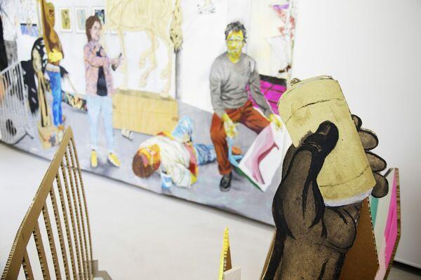 Stefan Kasper - De gouden dood of de gladiolen, installation view