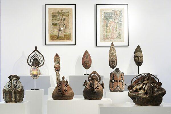 YAMINISM: Abelam Masks of Sustenance and Spirit, installation view