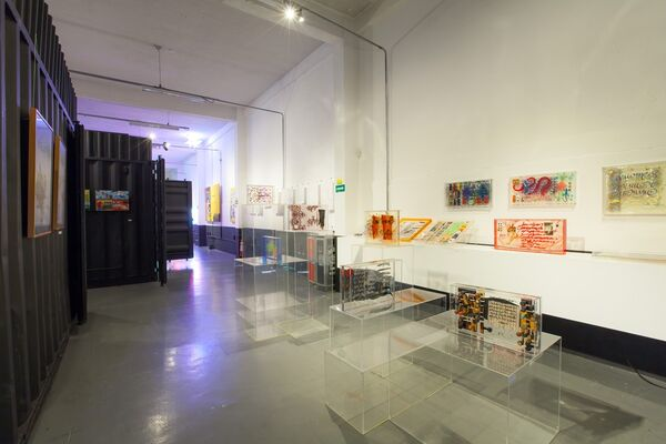 Choque Cultural at SP-Arte 2018, installation view