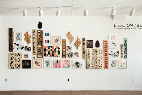 Direction/Instruction, installation view