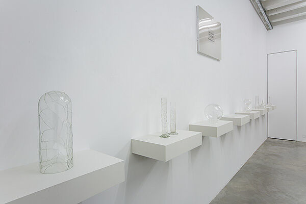 """Ignasi Aballí, """"something is missing"""", installation view"""