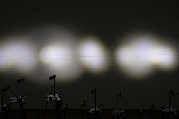 "SHANG YIXIN: ""--"", installation view"