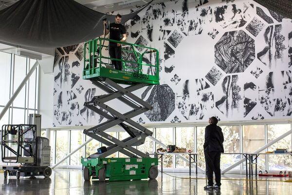 Sam Vernon, installation view