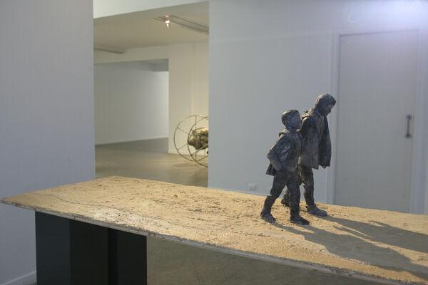 """José Cobo, """"En el Backstage"""", installation view"""