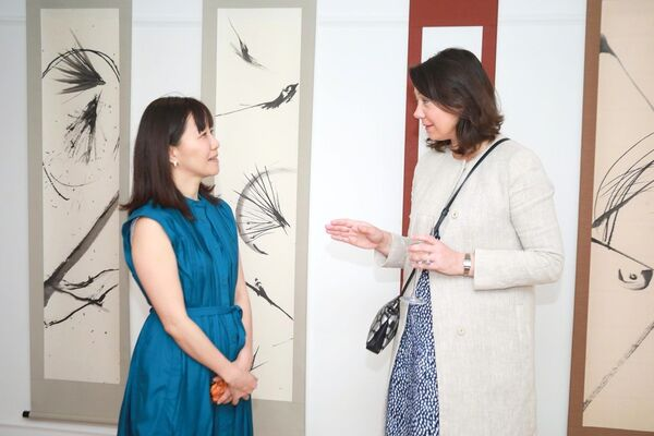 "CASE Contemporary Art Season Exhibition ""Ink, beyond"", installation view"