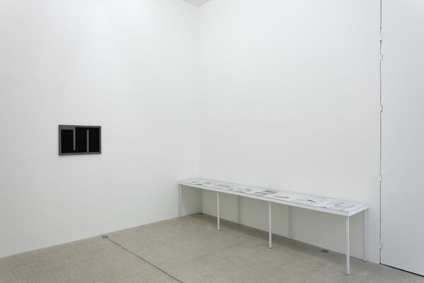 The meander is a form of my freedom, installation view