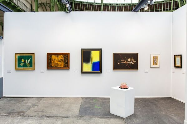 Omer Tiroche Contemporary Art at Art Paris 2016, installation view