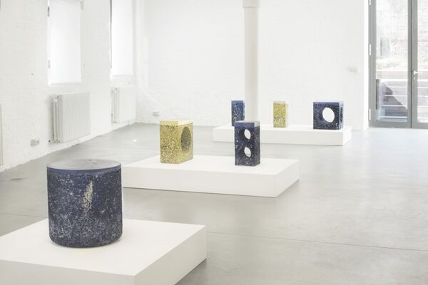 Metal Rock by Michael Young, installation view