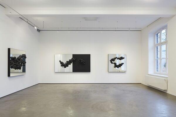 Birgitta Weimer - Wahrscheinlichkeitswolken, installation view