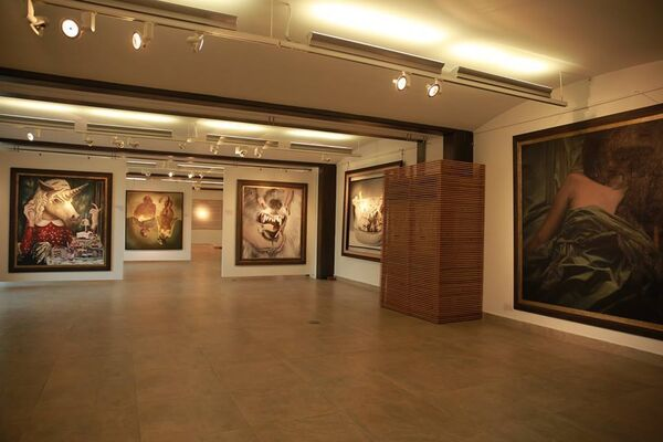 Tales of Art, installation view