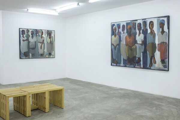 Pillars of Life: The Power and Grace of Market Life, installation view