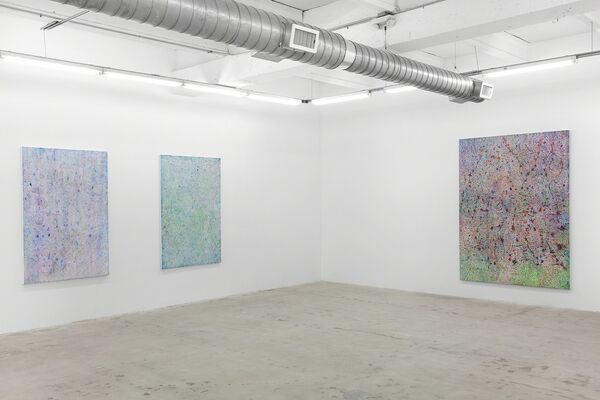 Tomm El-Saieh: The head and the house, installation view