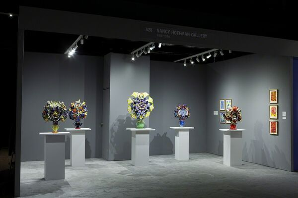 Nancy Hoffman Gallery at The Art Show 2019, installation view