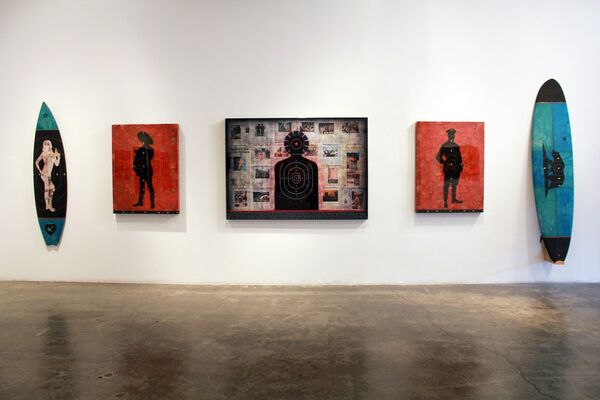 A HISTORY OF VIOLENCE, installation view