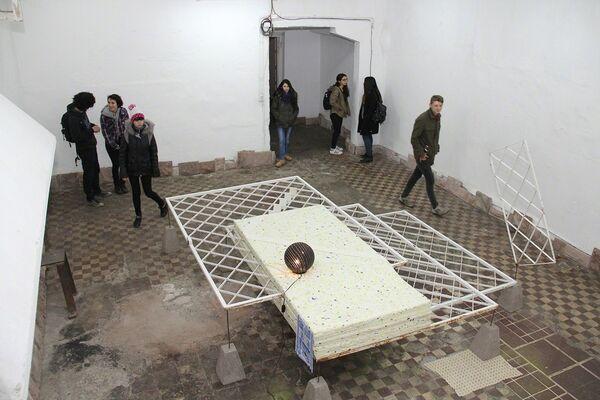 Mantle / Tomás Rivas, installation view
