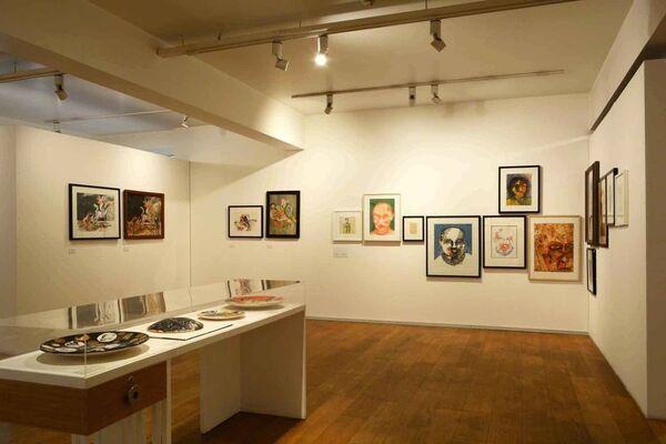 Liberation/ Revelation/ Representation: The art of Bhupen Khakhar, installation view