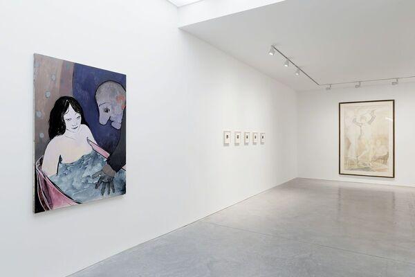 La Perle, installation view