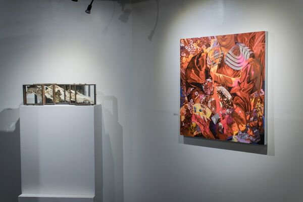 Drink Me, installation view