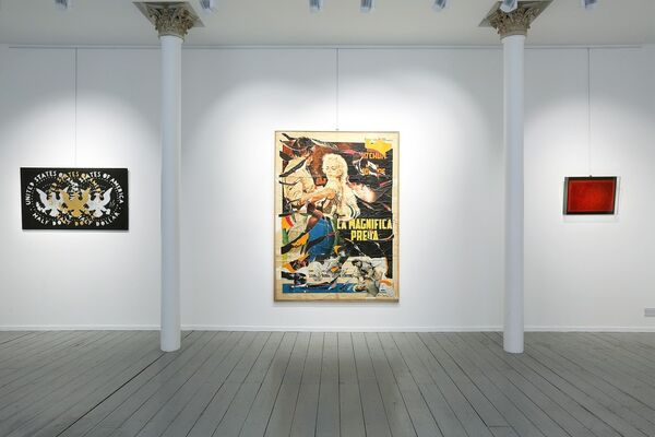 Painting as Neo Avant-Garde, installation view