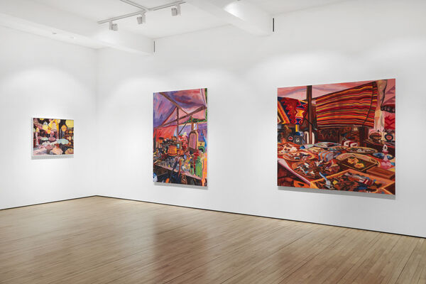 Anna Freeman Bentley - Collected and Composed, installation view