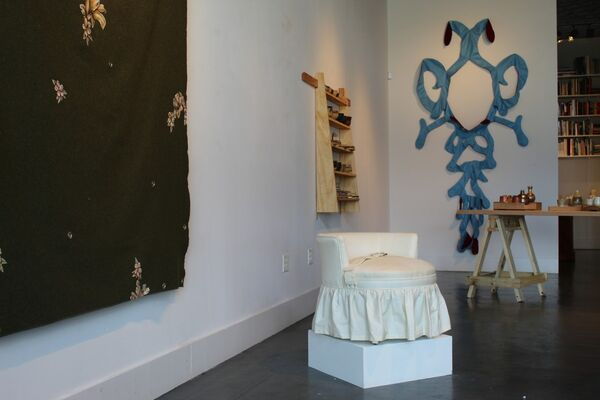 Nate Cassie & Constance Lowe: Minding the Gaps, installation view