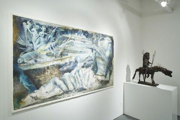 Winter Spotlight: Visionary Edge, installation view