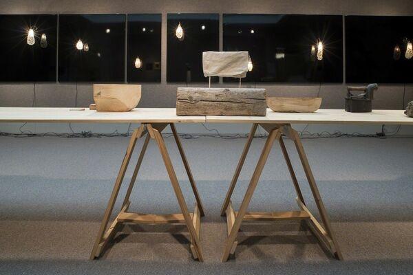 Nancy Friedemann-Sánchez: Travelers and Settlers, installation view