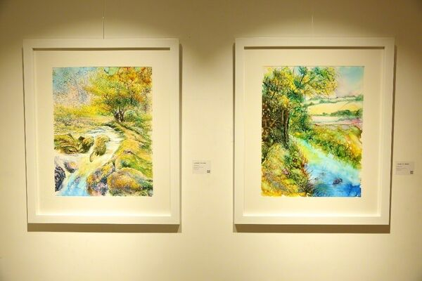 Impression of the Landscape, installation view