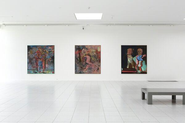 Biennial of Painting: Yoknapatawpha, installation view
