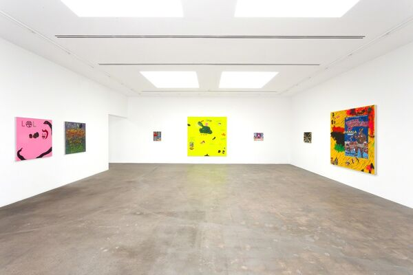 Mixed Emotions, installation view