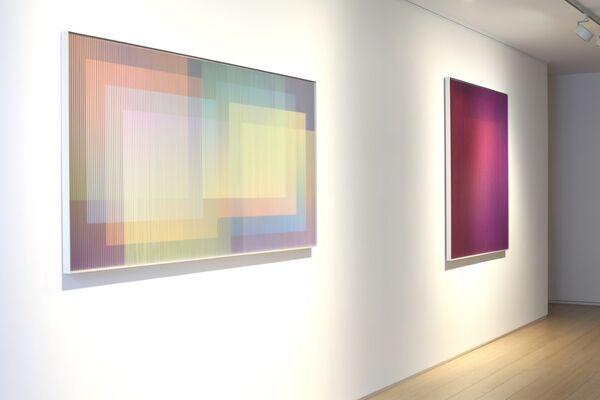 Carlos Cruz-Diez - Labyrinthus, installation view