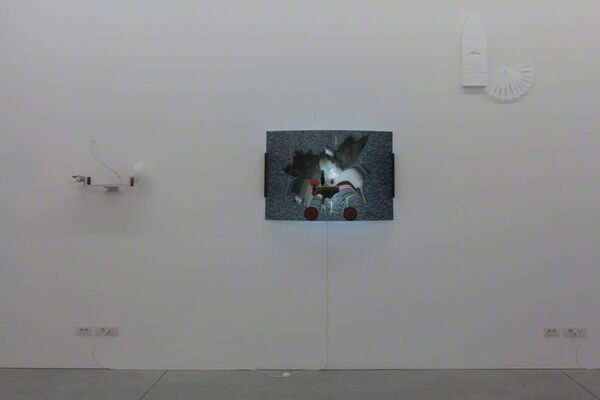 Honoré ∂'O 2017 | FallDown app (Death as a Tool), installation view