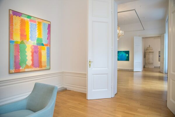 Heinz Mack - From Time to Time, installation view