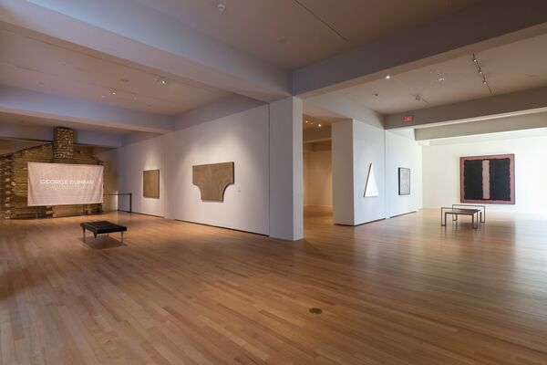 George Dunbar: Elements of Chance, installation view