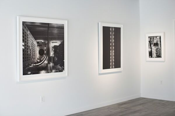 Detroit From Above, installation view