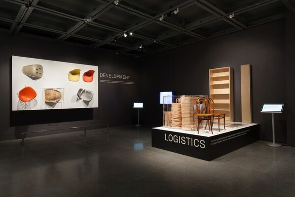 The Essence of Things: Design and the Art of Reduction, an exhibition of the Vitra  Design Museum, celebrates simplicity in design, installation view
