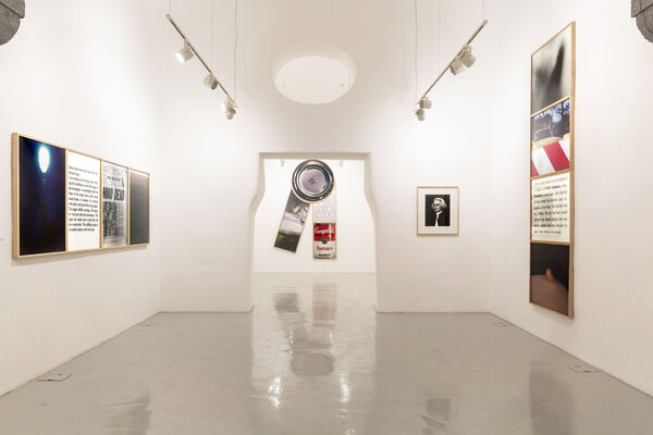 Bill Beckley, Elements of Romance. Works from the Seventies, installation view