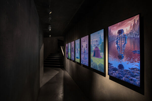 Still Human: a reflection on how we react to what's new, installation view
