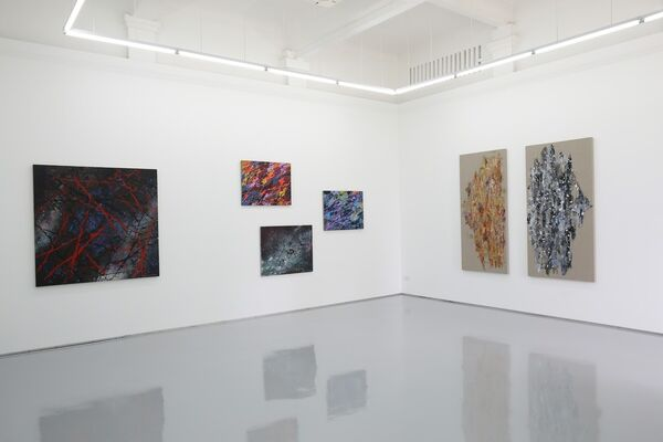 The Calm Before the Storm, installation view