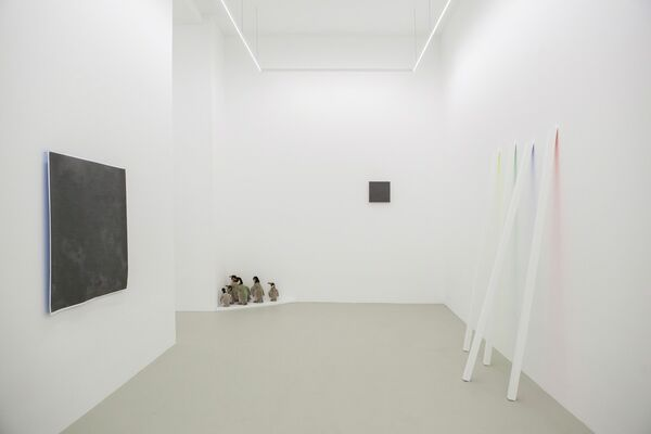 Philip Emde 'It's not the darkness i'm afraid of.', installation view