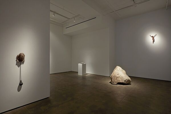 Kris Martin: ?DO GEESE SEE GOD?, installation view